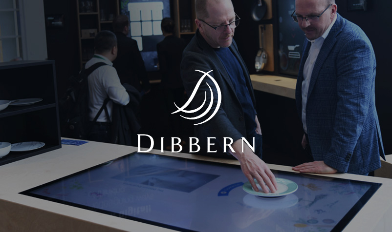 Touch-Table für Dibbern