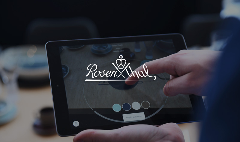 Augmented Reality für Rosenthal
