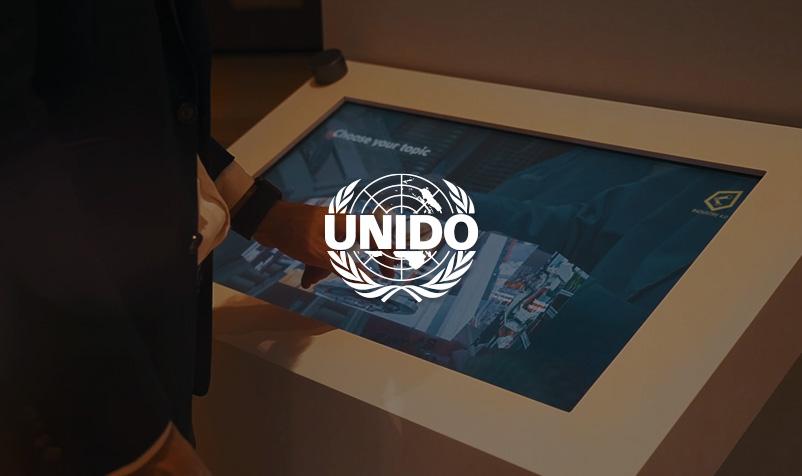 Multi-Touch Anwendung für UNIDO